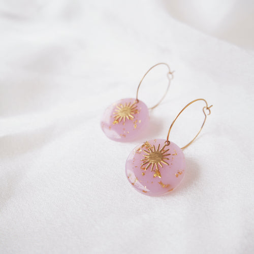 Sunbeam Hoops (Lilac)
