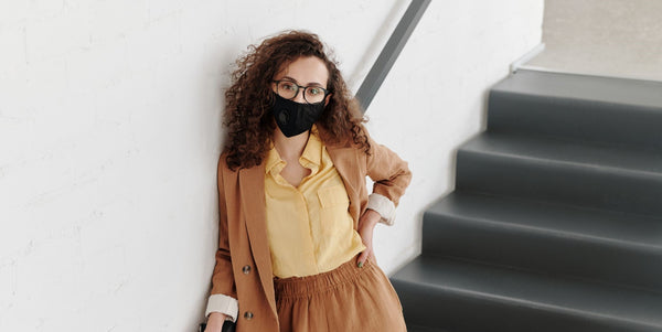 How to stop your glasses fogging up when you wear a face mask or face covering