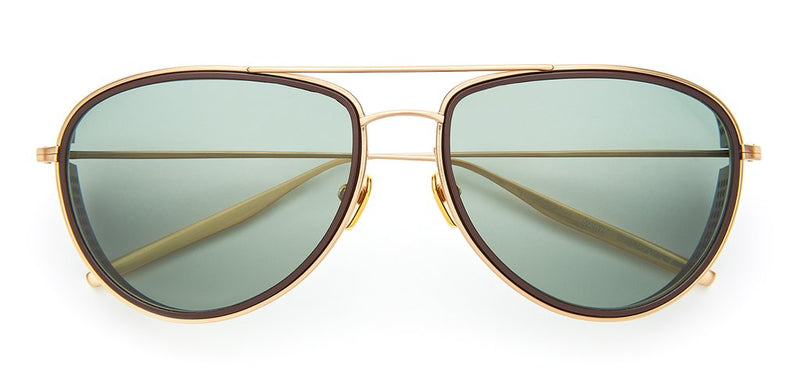 SALT Aether Scout Sunglasses Brushed Honey Gold