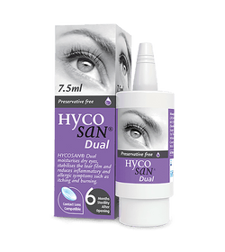 Hycosan Dual Allergy Eye Drops