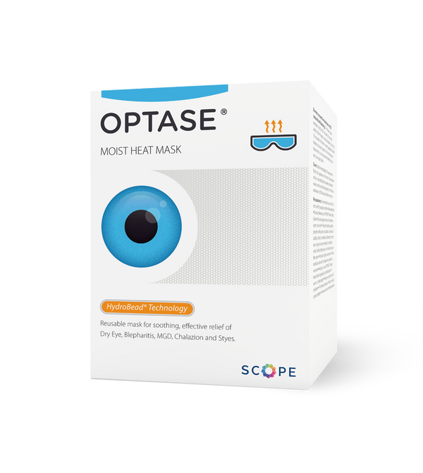 Optase Moist Heat Eye Mask for Blepheritis