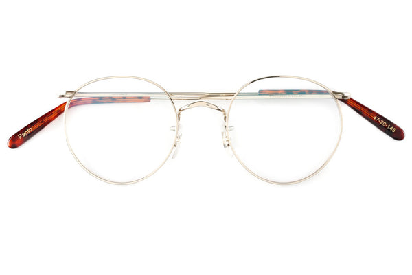 Savile Row Glasses Panto Gold