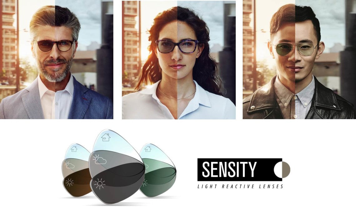 ADD ON: Sensity Photochromic Lenses