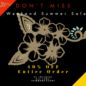 Weekend Summer Sale!!!