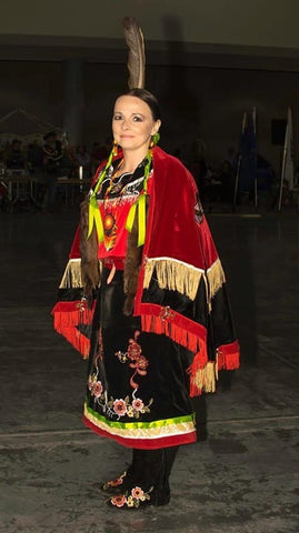 Ayasha Loya Red Road Powwow 2016 Fresno California