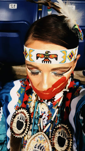 Ayasha at New Years 2020 Sobriety Powwow