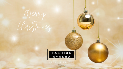 Merry Christmas from Fashion Ayasha