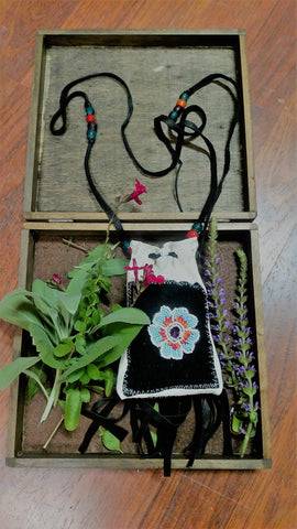 Mom's Medicine Bag I made her for Mother's Day by Ayasha Loya