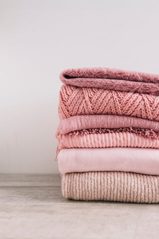 Pink Knitted Sweater Collection