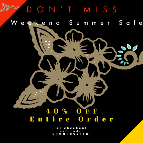 Weekend Summer Clothing Sale
