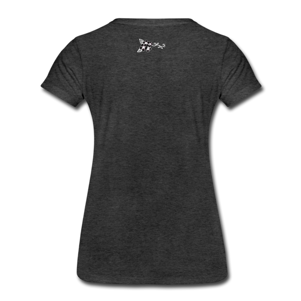 Straight Outta Rez Women's Premium T-Shirt - charcoal gray