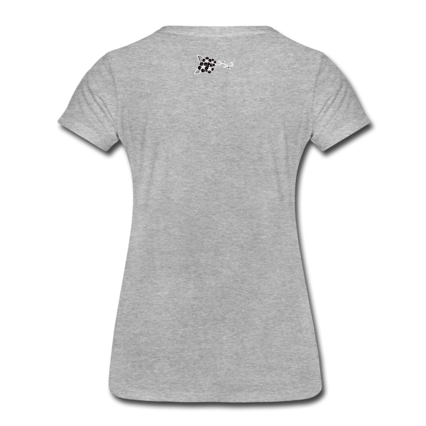 Straight Outta Rez Women's Premium T-Shirt - heather gray