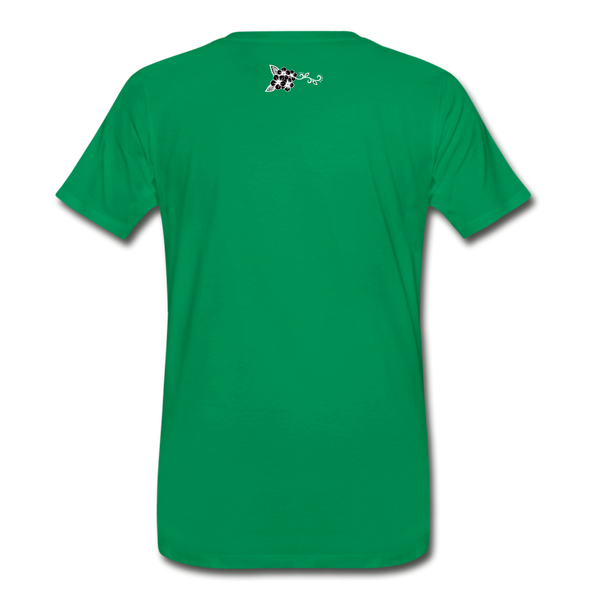 Straight Outta REZ Men's Premium T-Shirt - kelly green