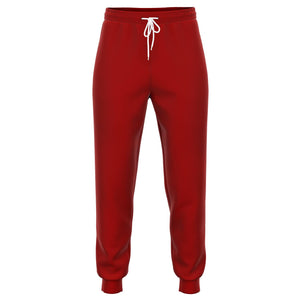 Red Athletic Sports Joggers
