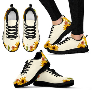 Sunflower Patch Women's Fashion Sneakers
