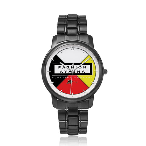 Fashion Ayasha Medicine Wheel Logo Watch