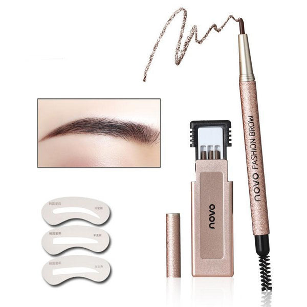Professional Eye Brow Makeup Kit
