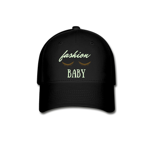 Fashion Baby Hat - black