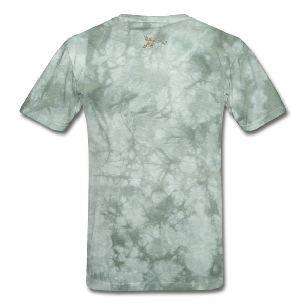 Men's T-Shirt Brand New With Tag - military green tie dye