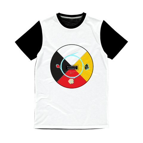 Fashion Ayasha Medicine Wheel Medicine Wheel Classic Sublimation T-Shirt