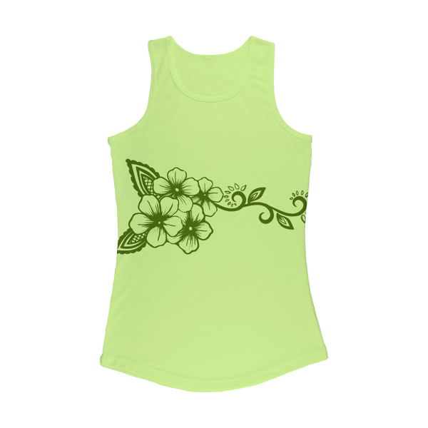 Women's Green Performance Tank Top - https://www.ayashaloyadesigns.com/products/womens-performance-tank-top