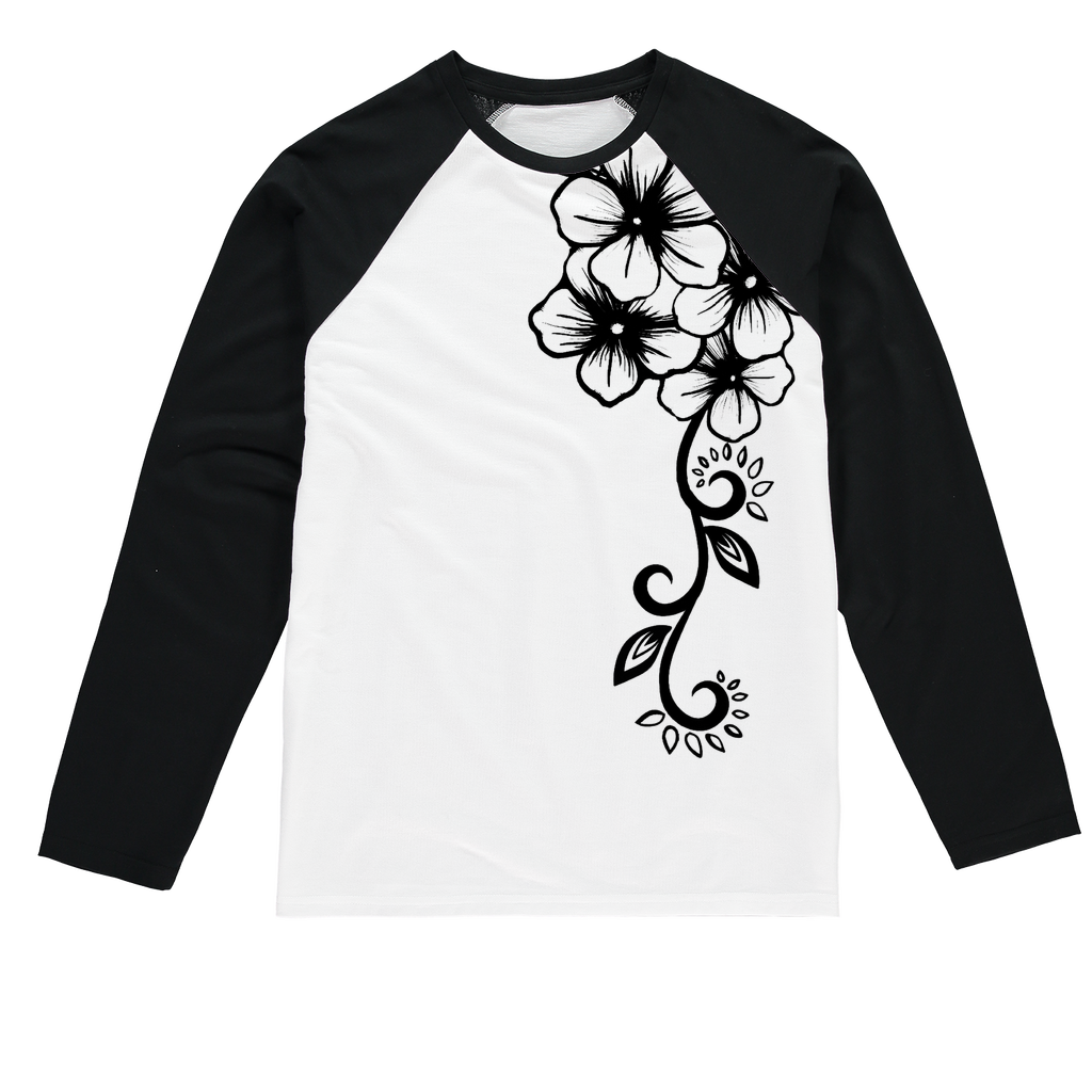 Fashion Ayasha Baseball Long Sleeve T-Shirt