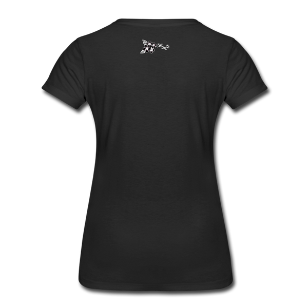 Straight Outta Rez Women's Premium T-Shirt - black