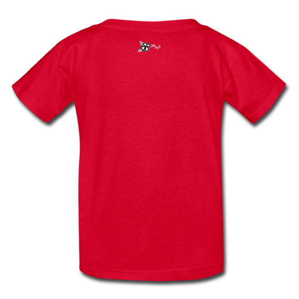 Straight Outta Rez Kids' T-Shirt - red