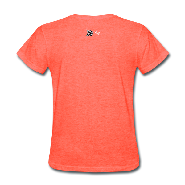 Fashion Beauty Lifestyle Women's T-Shirt - heather coral