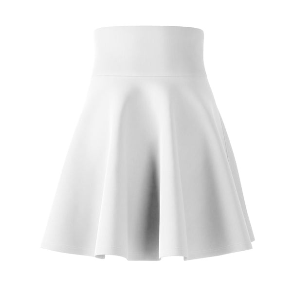Women's White Flare Skirt
