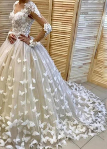 Woodlands Butterfly Ball Gown Wedding Dress
