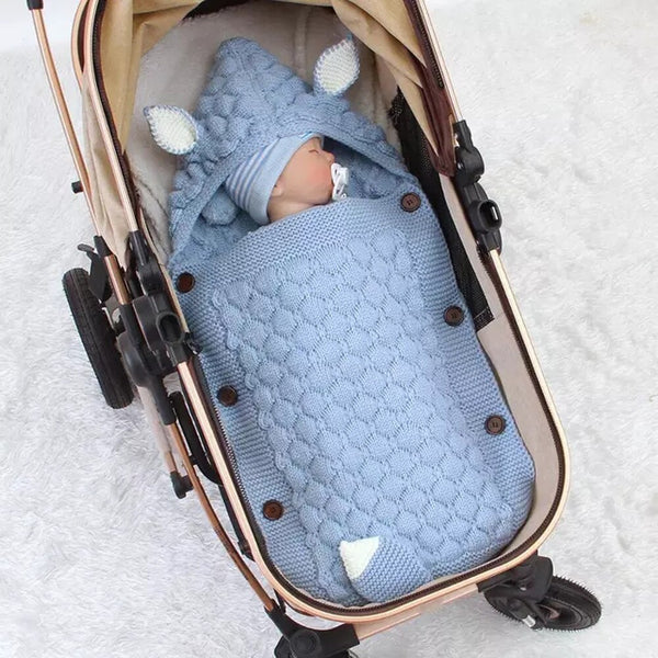 Baby Winter Swaddle Wrap Blanket