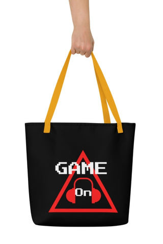 Caution One Way Game On Video Gamers Unisex Video Game Carrying Bag