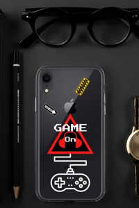 Caution One Way Game On Video Gamers Unisex iPhone Case