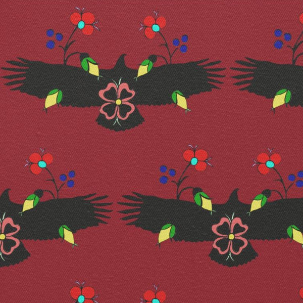 Eagle With Flowers Fabric