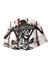 Fashion Ayasha Thunderbird Birch Forest Adult Cloth Face Mask