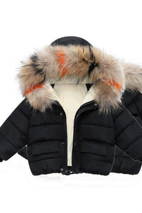 Girl's Down Winter Coat