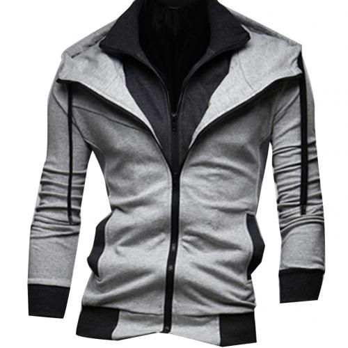 Stylish Men's Outdoor Windbreaker JacketStylish Men's Outdoor Windbreaker Jacket