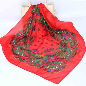 Fashion Ayasha Fashion Floral Scarf