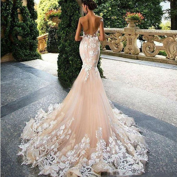 Pure Romance Elegant Lace Wedding Dress
