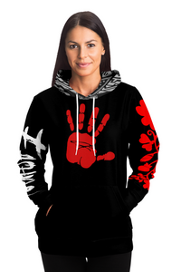 MMIW Red and Black Unisex Hoodie