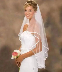 Elegant Lace Veil for Wedding Bride