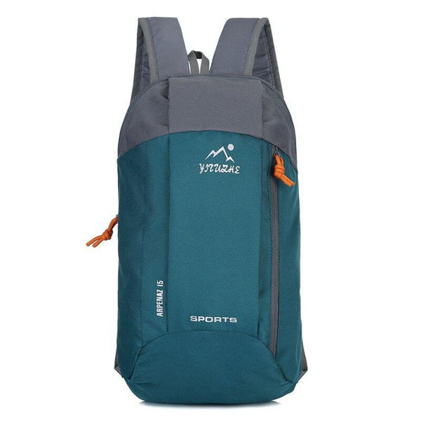 Waterproof Outdoor Sport Light Weight Hiking Backpack Grey Green