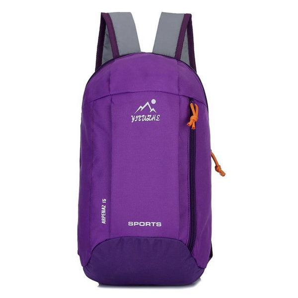 purple Waterproof Outdoor Sport Light Weight Hiking Backpack