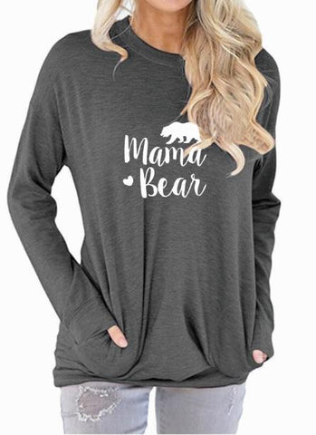 Mama Bear Long Sleeve Shirt