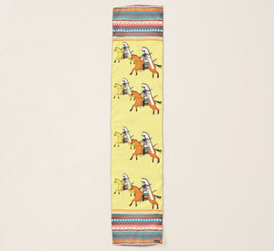 Yellow Shoshone Horse Scarf