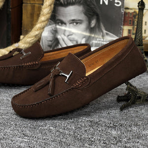 Natural Genuine Leather Men's Loafers Moccasin Men's Shoes