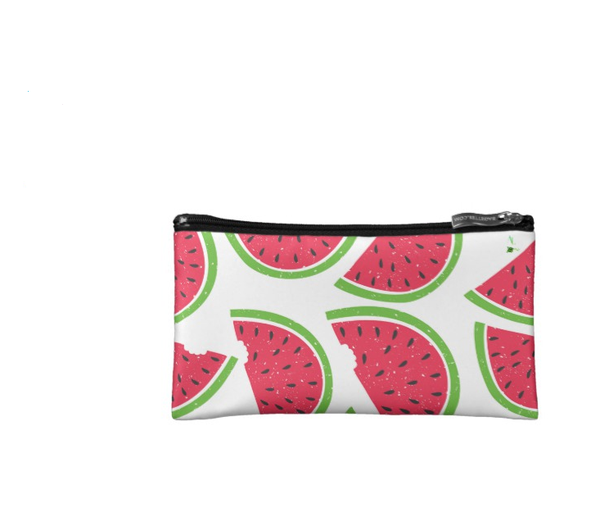 Watermelon Fruit Cosmetic Makeup Bag