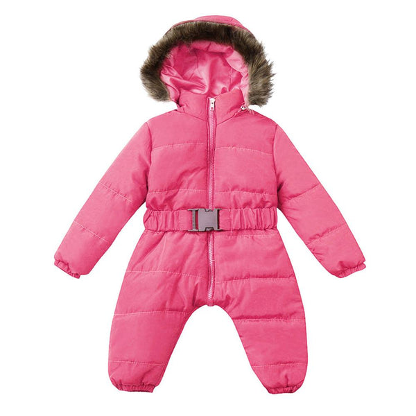Winter clothes Infant Baby snowsuit Boy Girl Romper Jacket Hooded Jumpsuit Warm Thick Coat Outfit 2019 vetement New fille hiver