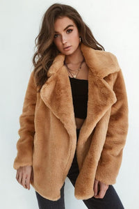 Women's Thick Faux Fur Winter Coat
